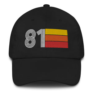 Retro 1981 vintage birthday gift idea Expo Dad hat