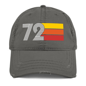 1972 Retro 72 Distressed Dad Hat