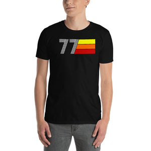RETRO EXPO 1977 MEN'S WOMEN'S Short-Sleeve Unisex T-Shirt