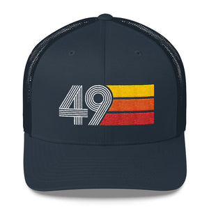 1949 RETRO BIRTHDAY GIFT MENS WOMENS Trucker Cap