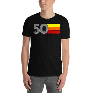 RETRO EXPO 1950 MEN'S WOMEN'S SHORT-SLEEVE UNISEX T-SHIRT