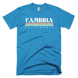 Cambria California Short-Sleeve T-Shirt - Styleuniversal