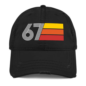 1967 Retro 67 Distressed Dad Hat