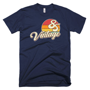 Vintage 1985 Retro Birthday Short-Sleeve T-Shirt