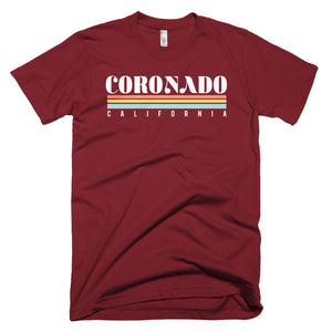 Coronado California Short-Sleeve T-Shirt - Styleuniversal