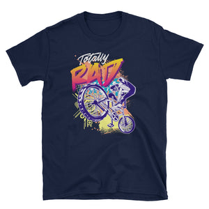 Totally Rad 80's BMX Bike Short-Sleeve Unisex T-Shirt - Styleuniversal