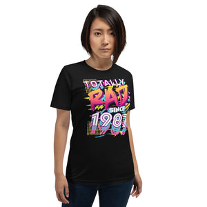 Totally Rad since 1987 Short-Sleeve Unisex T-Shirt