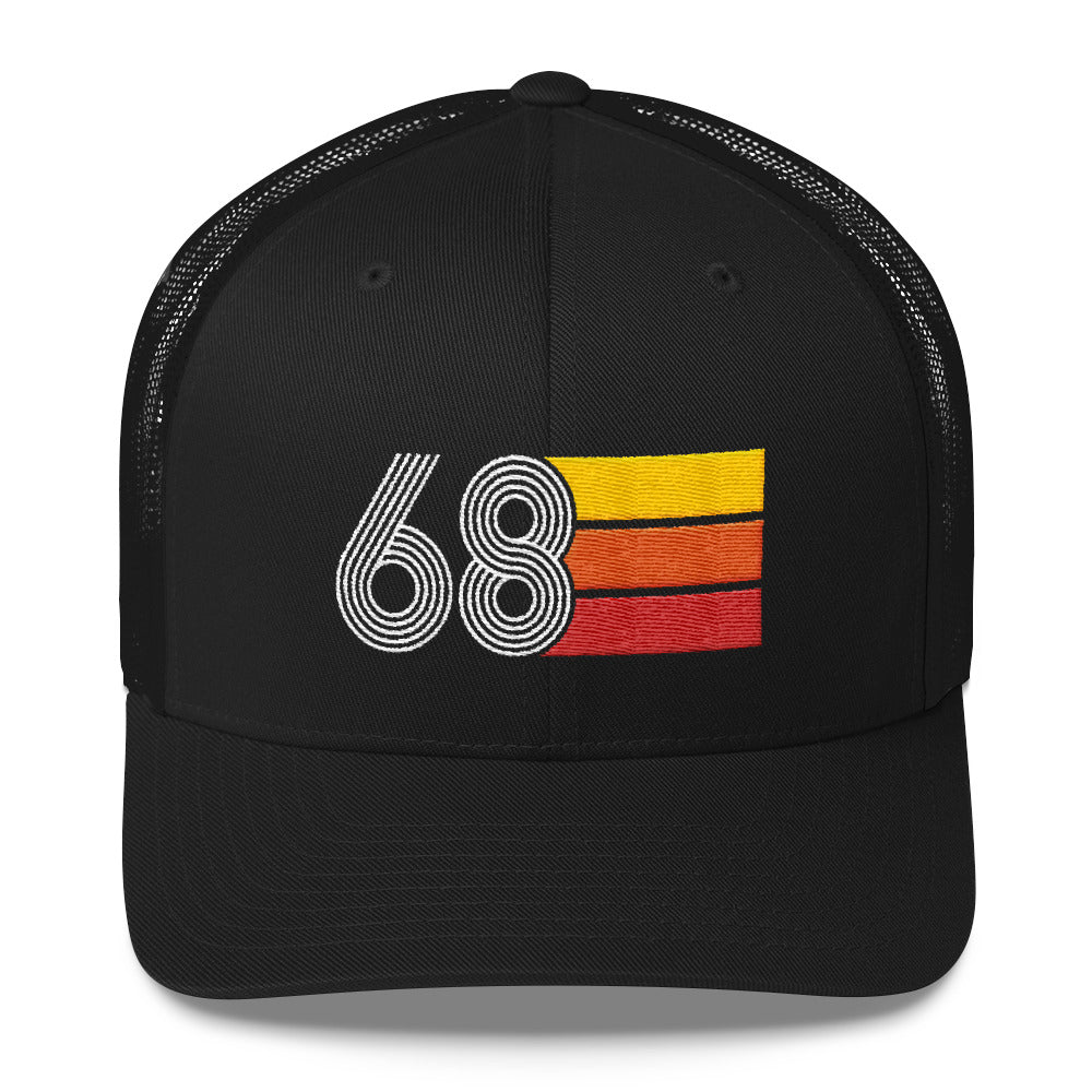 Vintage 1968 50th Birthday Trucker Cap