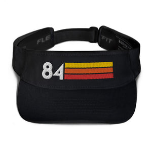 1984 Retro Birthday Anniversary Reunion Number 84 Visor