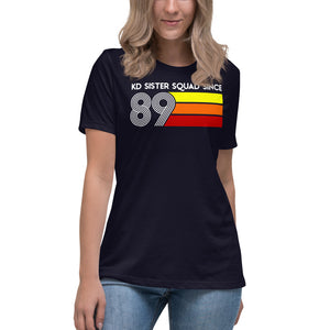 KD Squad since 89 Women's Relaxed T-Shirt