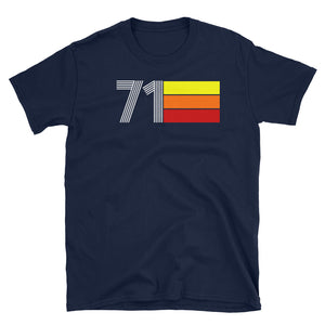 RETRO EXPO 1971 MEN'S WOMEN'S Short-Sleeve Unisex T-Shirt
