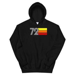 Retro Expo 1972 Men's Women's Unisex Hoodie
