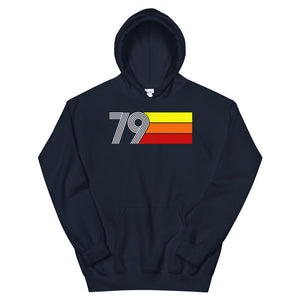 Retro Expo 1979 Men's Women's Unisex Hoodie