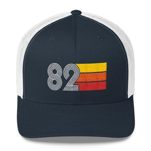 Vintage 1982 Hat Retro Birthday Trucker Cap
