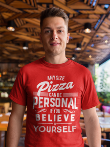 Funny Pizza Lover Foodie Short-Sleeve T-Shirt