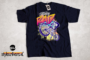 Totally Rad 80's BMX Bike Short-Sleeve Unisex T-Shirt