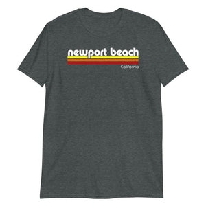 Newport Beach California Short-Sleeve Unisex T-Shirt