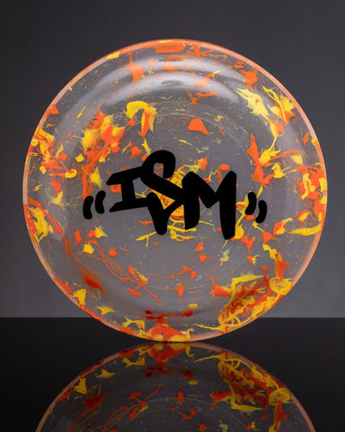iSM Frisbee/Rolling Tray Yellow/Orange