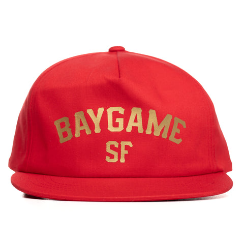 Baygame Pastime unstructured Cap Niner Gang Colorway