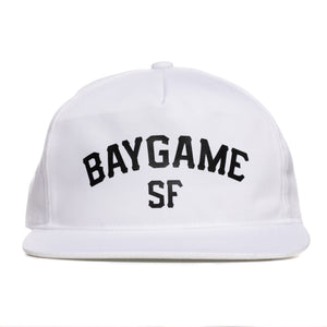 Baygame Pastime unstructured cap White/Black
