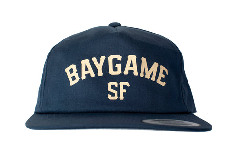 Baygame Pastime unstructured cap Navy/Cream