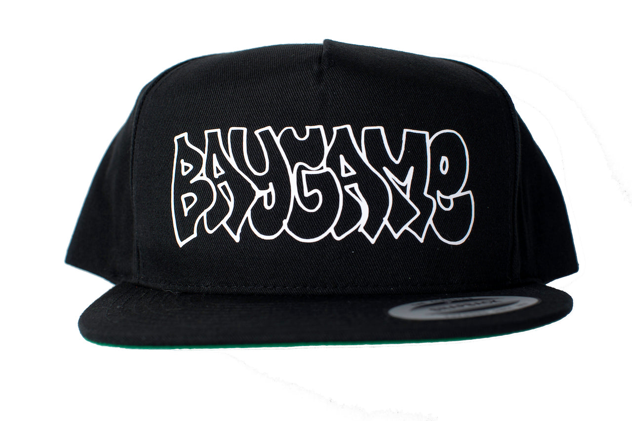Baygame Hollow Snapback Black/White