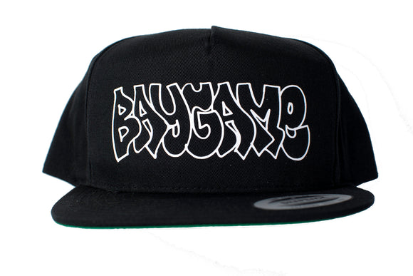 Baygame Goose Hollow Hat Black/White