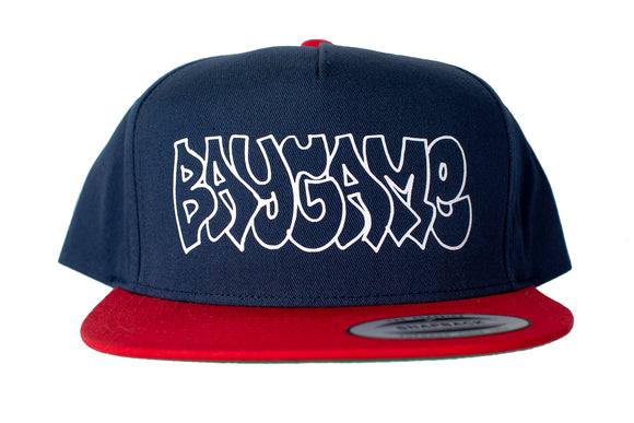 Baygame Goose Hollow Hat (Navy/Red)