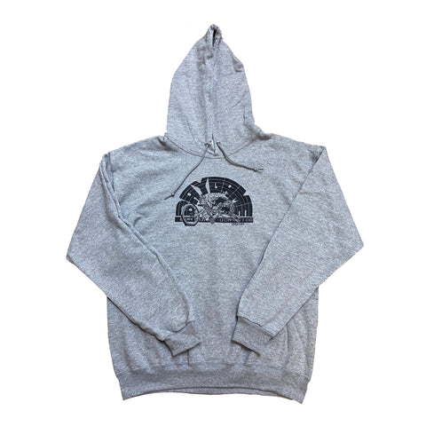 Baygame Locals Hoodie Grey