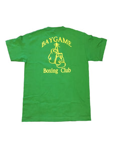 Baygame Boxing Club tee Green