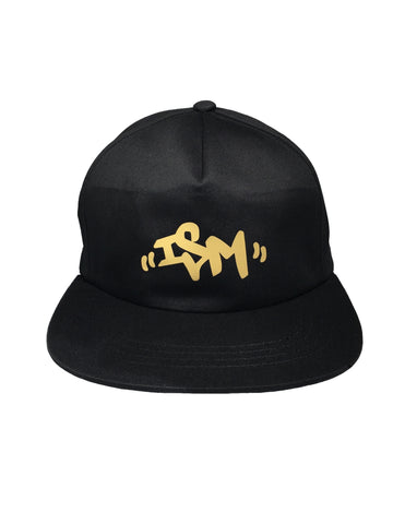 -ism Unstructured Hat Black/Gold