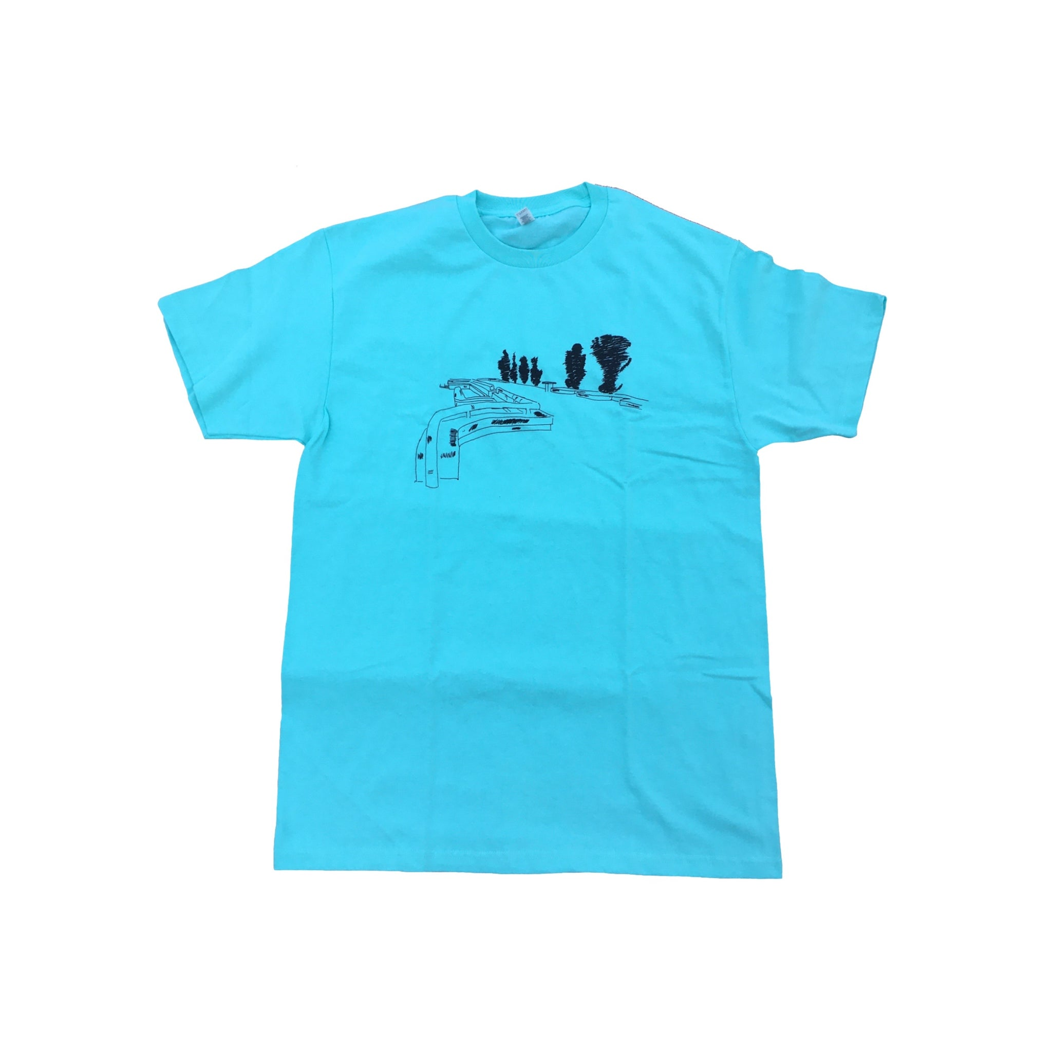 Baygame 3rd And Army Tee Teal