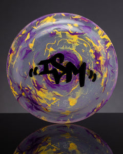 iSM Frisbee/Rolling Tray Yellow/Purple