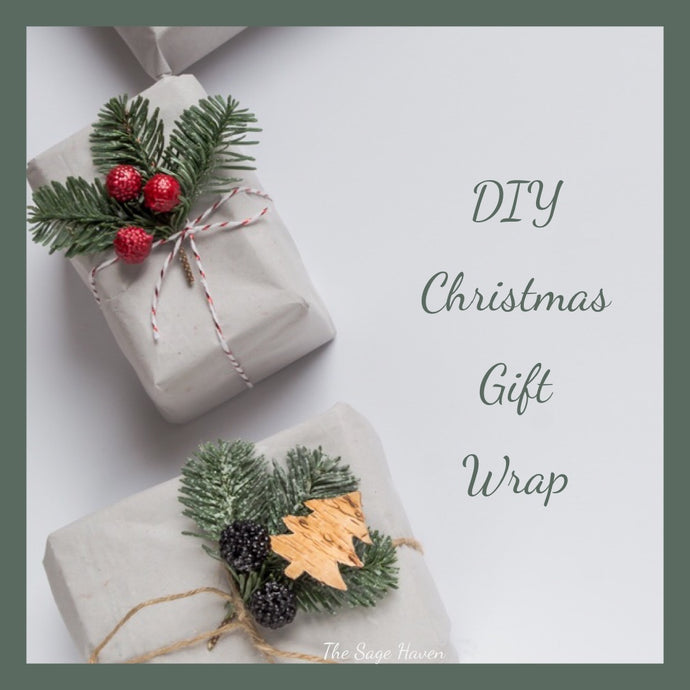 Save a tree this Christmas with DIY Gift Wrap