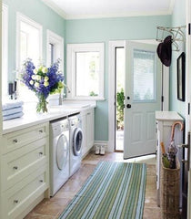 Utility room colour scheme