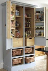Pantry utility room dresser food storage