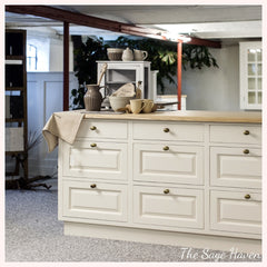 how to organise kitchen drawers - home decor blog- the sage haven