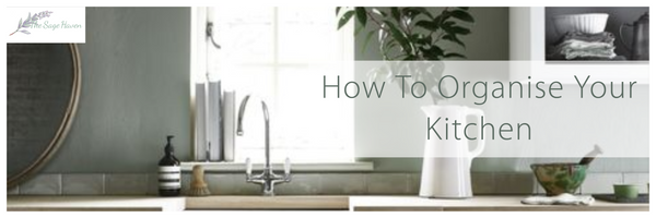 how to organise your kitchen blog post