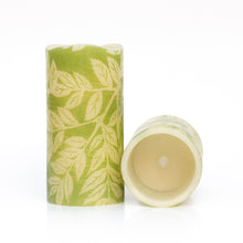 Load image into Gallery viewer, set of 2 Lucent Leaves Decorative Battery Operated Candles - the sage haven ireland
