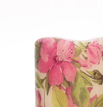 Load image into Gallery viewer, pink floral design on led battery candle