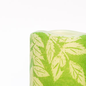 details of Lucent Leaves Decorative Battery Operated Candle - the sage haven ireland