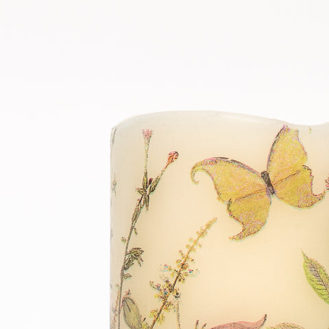 Flickering Battery Candles - Wildflowers - The Sage Haven