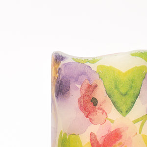 details of Watercolours LED Wax Pillar Candle - the sage haven ireland