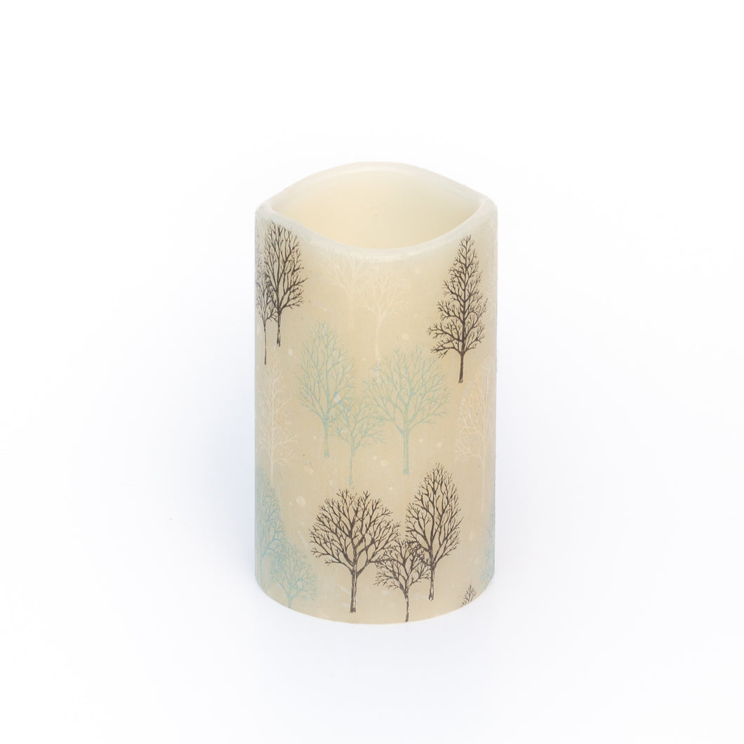 Winter Candle - Hygge Christmas Decorations - the sage haven ireland