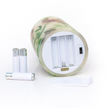 Load image into Gallery viewer, base of flameless candle with batteries - the sage haven, ireland