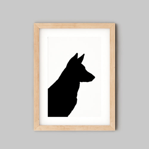 Digital Dog Portrait - Dog Lovers Gift - The Sage Haven, ireland