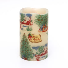 Load image into Gallery viewer, Seasonal Candle with vintage style design - the sage haven, ireland