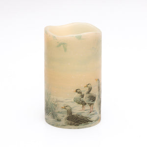 wild geese flameless candle - the sage haven, ireland