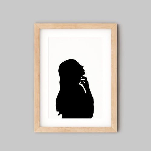 Personalised Portrait - Custom Silhouette