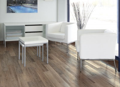"COREtec Plus 7"" Luxury Vinyl Blackstone Oak"